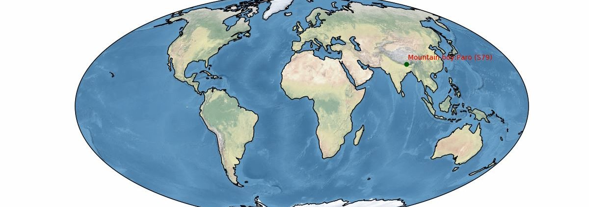animated map